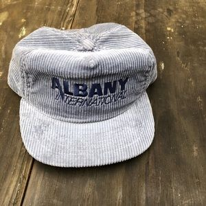 🔥🔥 VINTAGE ALBANY INTERNATIONAL STRAPBACK🔥🔥